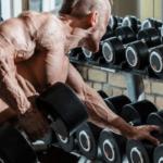 Fuerte entrenamiento de peso