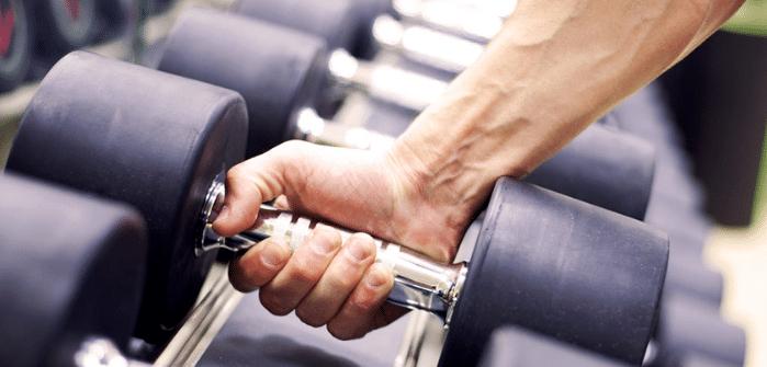 Alcance del agarre para entrenar