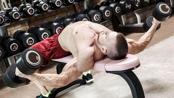Fuerte entrenamiento para los músculos