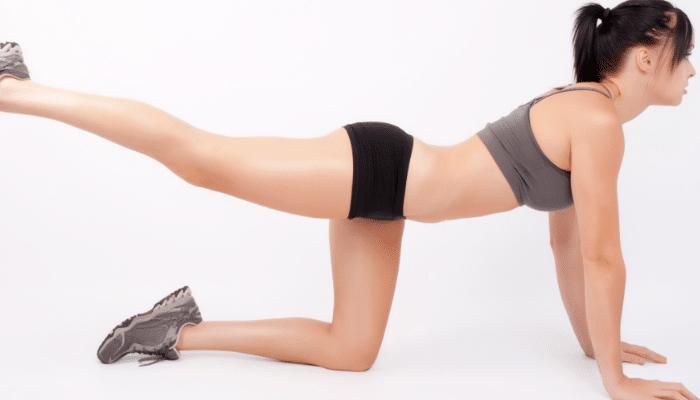 Elevación de piernas para glúteos