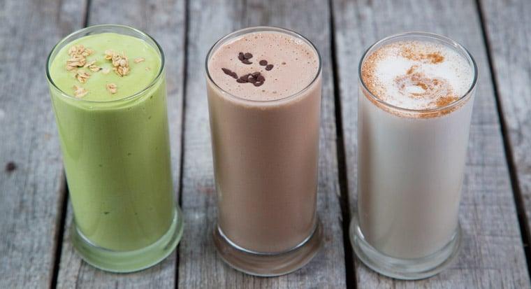 Batidos de proteína los días de descanso