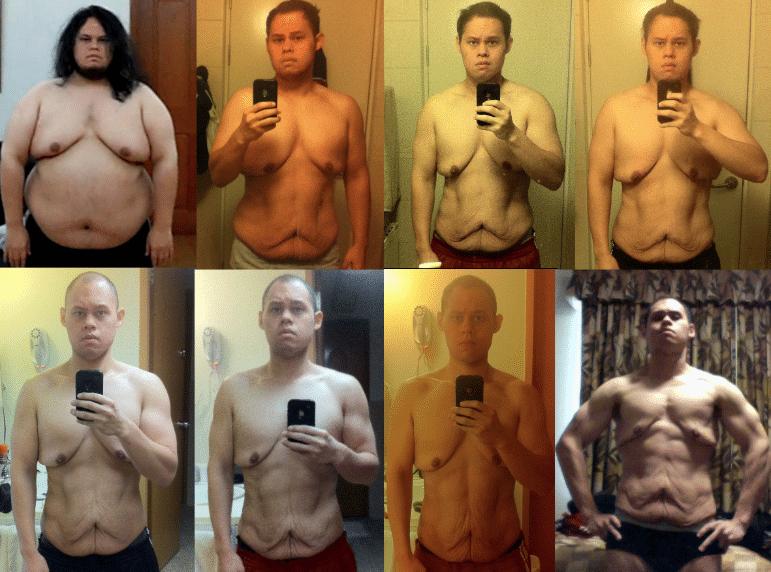 Transformación de un cuerpo