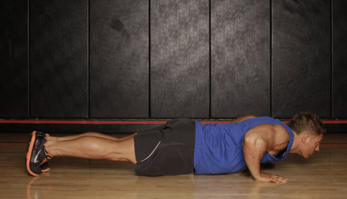 Push up para los laterales