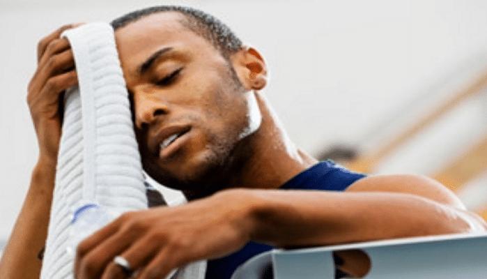 Fatiga de un atleta