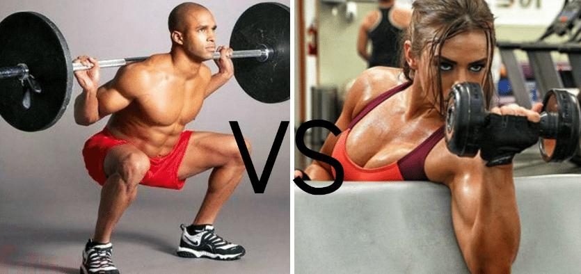 Diferentes ejercicios