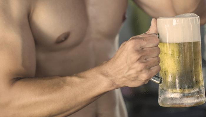 Alcohol post entrenamiento