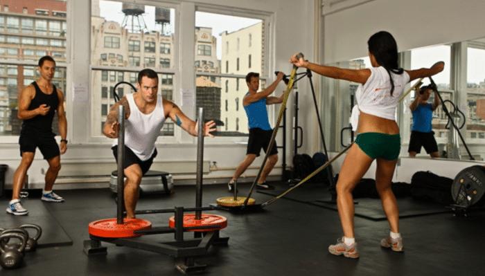 Circuito de ejercicios