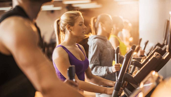 Fácil comiendo de ejercicios