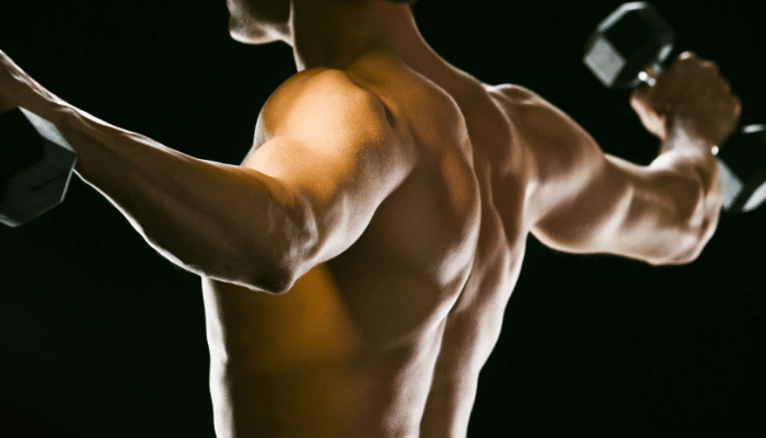 Músculos calientes y estirados