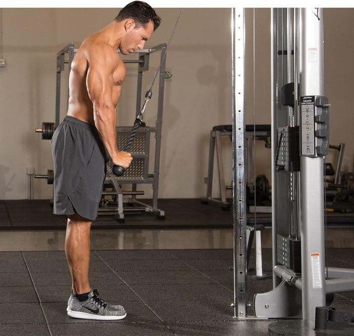 aumentar los tríceps
